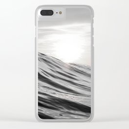 Motion of Water Clear iPhone Case