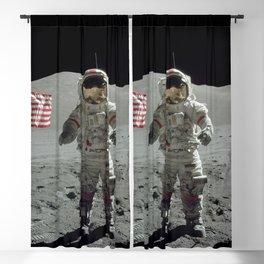 Apollo 17 - Last Man On The Moon Blackout Curtain
