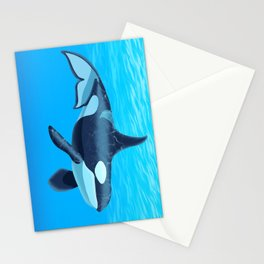 Ocra Killer Whale Stationery Cards