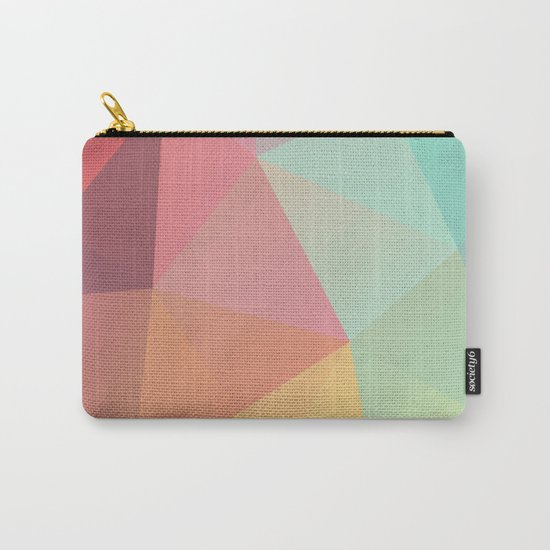Geometric IX Carry-All Pouch