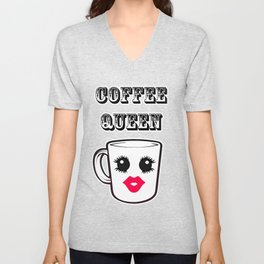 Coffee Queen Unisex V-Neck