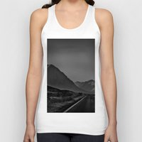 scotland Tank Tops featuring Scotland by itsthezoe