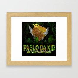 """""""Pablo Da Kid"""" 1st Album Release Cover Art 2.0 Framed Art Print"""