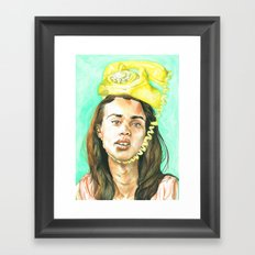 Don't Leave Me Hangin on the Telephone Framed Art Print