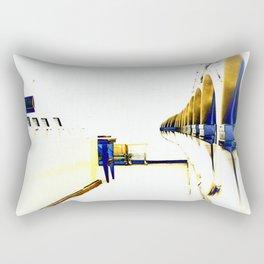 Dryers in the Hotel California Rectangular Pillow
