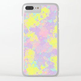 Somewhere #society6 #abstractart Clear iPhone Case