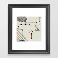 cycle Framed Art Print