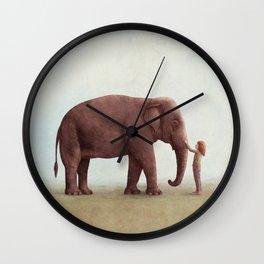 One Amazing Elephant Wall Clock