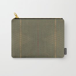 Army Burlap Carry-All Pouch