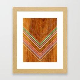 Aztec Arbutus Framed Art Print