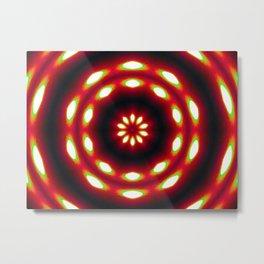 Supermoon Mandala Metal Print