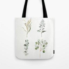 Eucalyptus Branches Tote Bag