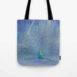 Peacock II Tote Bag