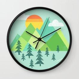 Patchwork Pass Wall Clock