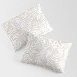Tropical Palm Leaves - Sand Pillow Sham