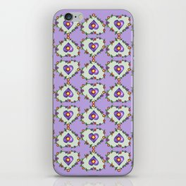 Heartily Floral iPhone Skin