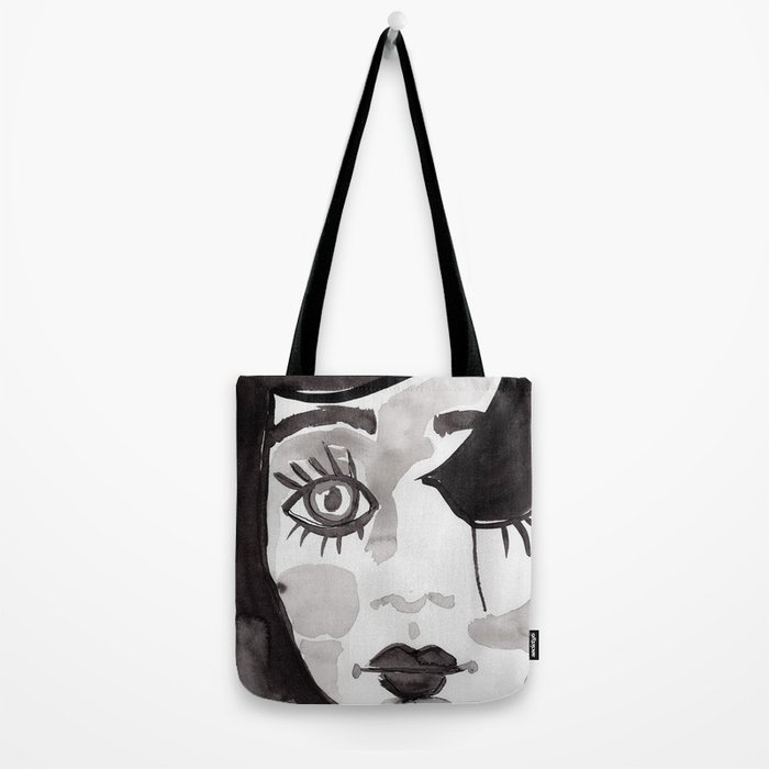 Broken Doll Tote Bag