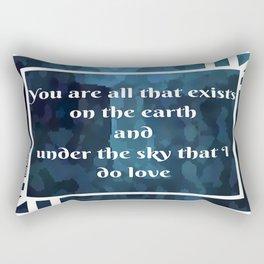 Lady Midnight Rectangular Pillow
