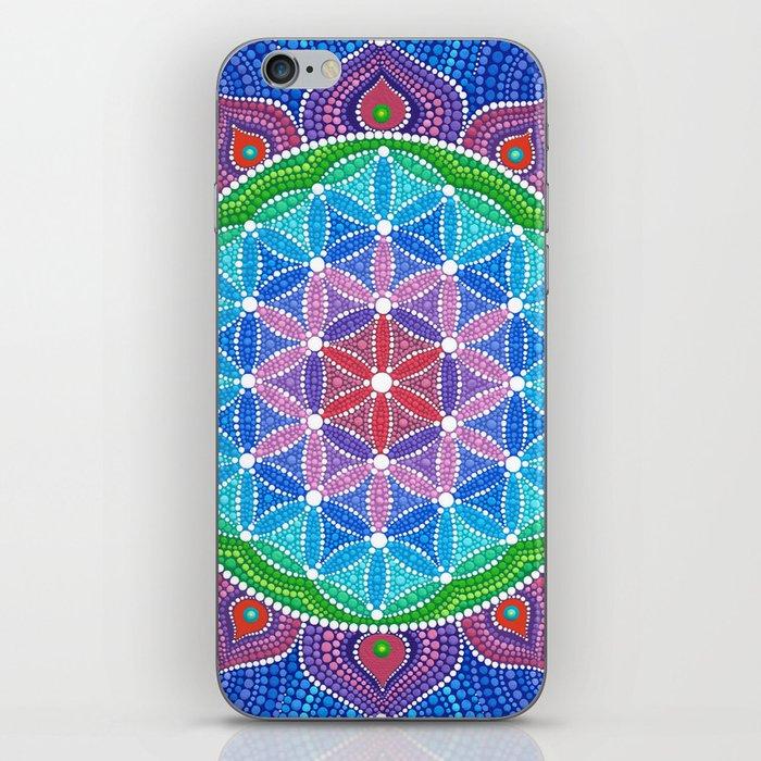 Lotus Flower Of Life Iphone Skin By Elspethmclean Society6