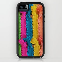 Rainbow, Rainbow Ribbons iPhone Case