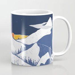 Mountain mysteries Coffee Mug