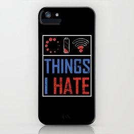 No Lan No Life iPhone Case