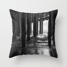 Sta. Monica Pier Throw Pillow