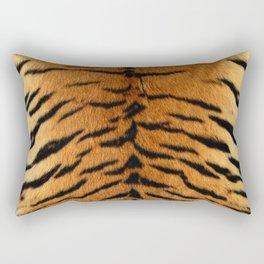 Faux Siberian Tiger Skin Design Rectangular Pillow
