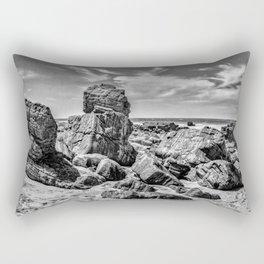 Big Rocks at Praia Malhada Jericoacoara Brazil Rectangular Pillow