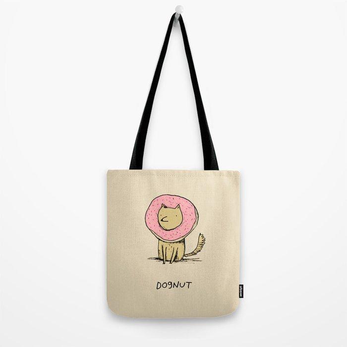 Dognut Tote Bag