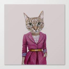cat Mrs Canvas Print