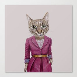 cat Mrs Canvas Print