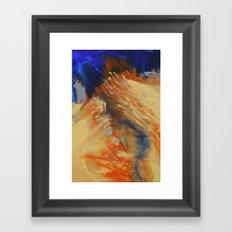 Burning River Framed Art Print