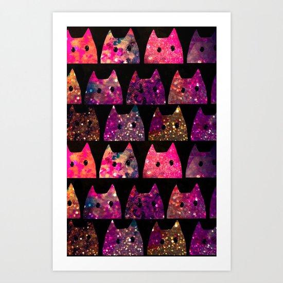 cat-255 Art Print