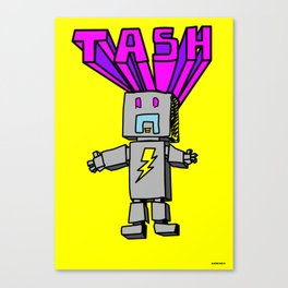 Electro Tash Number 1 Canvas Print