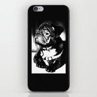 pug iPhone & iPod Skins featuring Pug by Falko Follert Art-FF77