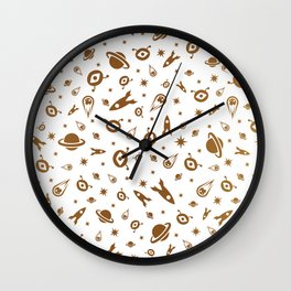 Space elements Wall Clock