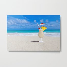 Share My Umbrella? Metal Print