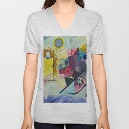 Wassily Kandinsky Geometric Composition Unisex V-Neck