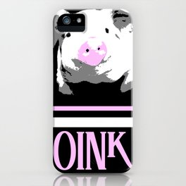 OINK iPhone Case