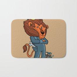 cartoon lion. Bath Mat
