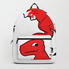 Well... Shit Prehistoric Animals Fan Gift Backpack