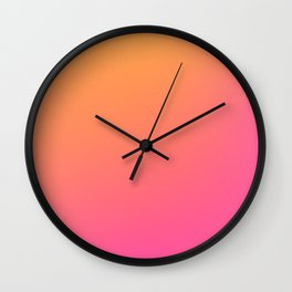 LAST SUMMER - Plain Color Iphone Case Wall Clock