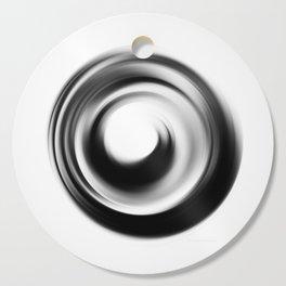 Soft Black Enso - Art by Sharon Cummings Cutting Board