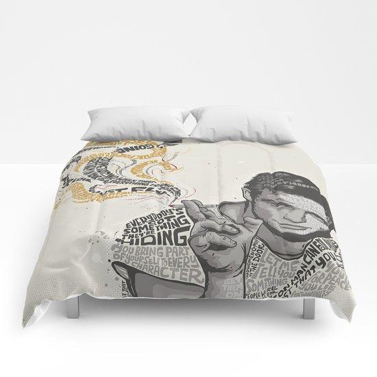 MARLON BRANDO - Quotes Art Comforters
