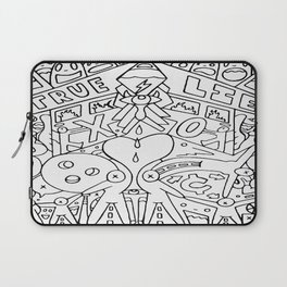 A Broken Divided Home Laptop Sleeve