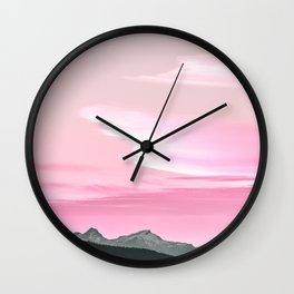 Cloud Formations Wall Clock