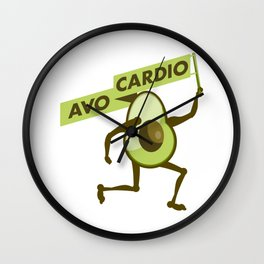 Avo cardio Wall Clock