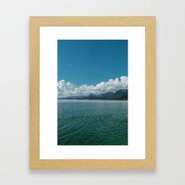 Hawaiian View Framed Art Print