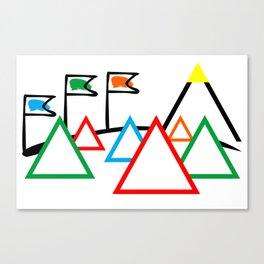 Campsite - Festival Canvas Print